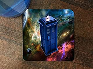 Dr Who Silicone Drink Beverage Coaster 4 Pack by Compass Litho