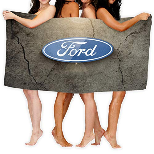 Large Puzzle Toalla de yoga Ford con bolsillos de esquina inteligentes y bucle elástico, toalla de yoga caliente antideslizante para Bikram, Pilate, Fitness