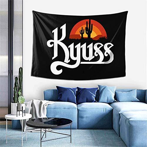 Kyuss - Tapiz para dormitorio o dormitorio con diseño novedoso de moda para decoración del hogar, 152,4 x 101,6 cm