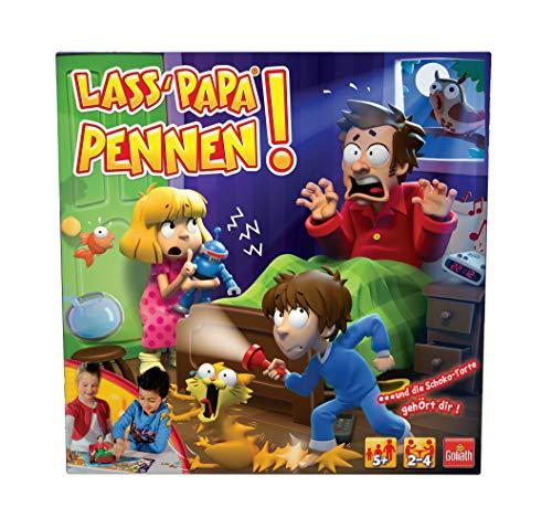Goliath 70649 Lass' Papa pennen-Das spannende Actionspiel mit Nervenkitzel-Garantie-Ab 5 Jahren