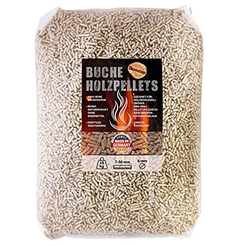 Flameup Buche Pellets 15 kg 30 kg Grill...