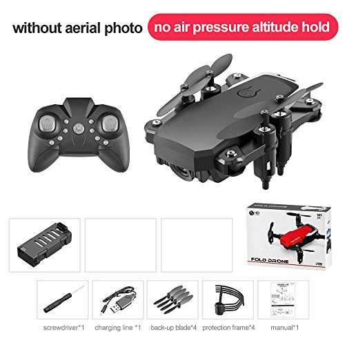 Baoer LF606 Mini Drone with Camera Altitude Hold RC Drones with Camera HD WiFi FPV Quadcopter Drone RC Helicopter Standard Without Camera