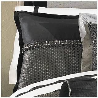 Waterford Linens Ormonde Black/Gold Standard Sham