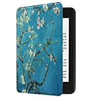 Kindle Paperwhiteカバー/ケース第十世代 2018キンドルペーパーホワイト専用ケース 2018 Kindle Paperwhite Newモデル(第10世代)に適応 オートスリープ機能付き (杏花)