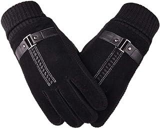 Touch Screen Winter Warm Men's Gloves Genuine Leather Casual Gloves Mittens for Men Outdoor Sport Full Finger Glove Men's Gloves