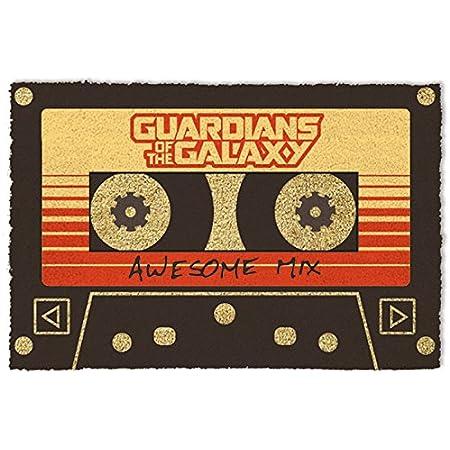 1art1 Guardianes De La Galaxia - Vol. 2, Awesome Mix Felpudo Alfombra (60 x 40cm)