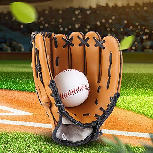 NIUPAN Volwassen mannen en vrouwen buitensportuitrusting tricolor softbal oefenapparatuur honkbal handschoenen honkbal