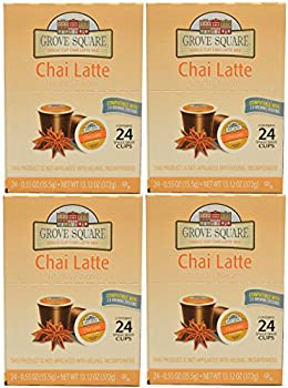 Grove Square Chai Latte 96-count Single Serve Cup for Keurig K-cup Brewers