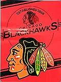 NORTHWEST NHL Chicago Blackhawks Raschel Throw Blanket, 60' x 80', Stamp