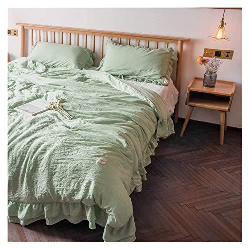 HFXY Trendy All Season Duvet,100% Cotton Microfibre Anti Allergy All Season Simple Style Quilt(Size : King) 1023