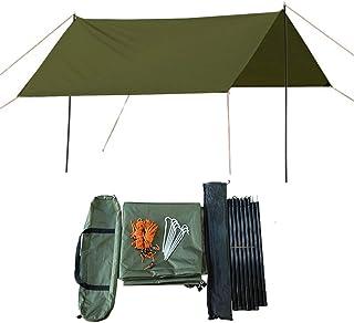 HI SUYI - Hamaca ultraligera para acampada (3 x 3 m)