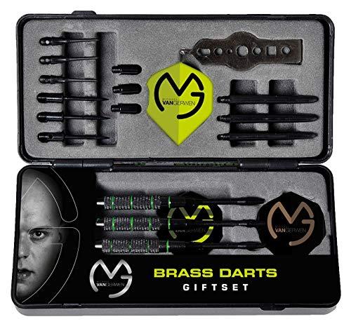 XQ Max Michael Van Gerwen Limited Edition - Dart-Geschenkset - 3 Darts mit austauschbaren Teilen in praktischer Aufbewahrungsbox