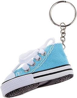 280d23c3 Juguetes Juegos Colgantes Llaveros Forma Zapato Lona Moda - Azul