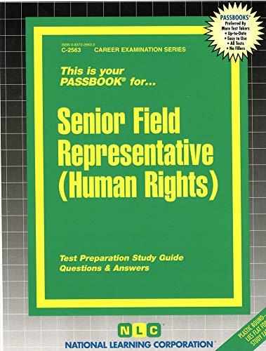 Senior Field Representative - Human Rights