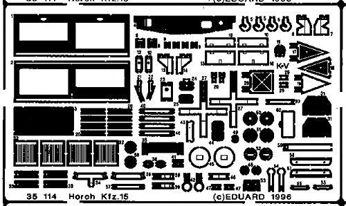 Eduard Accessories 35114 Kit de modélisme Horch 15