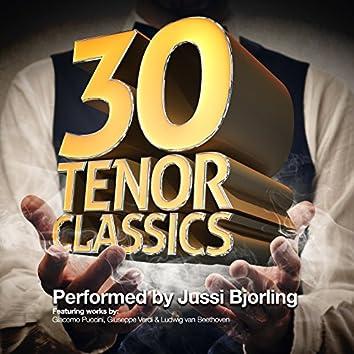 30 Tenor Classics... Performed by Jussi Bjorling
