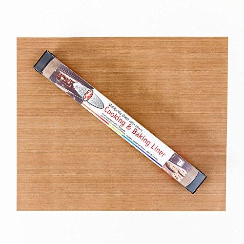 Bake-O-Glide STD0150 nieprzywierająca arkusz do gotowania/pieczenia, brązowy