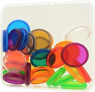 harayaa 30 Pièces Disques En Plastique Reliure Titulaire Boucle Notebook Papeterie Accessoire - 24mm