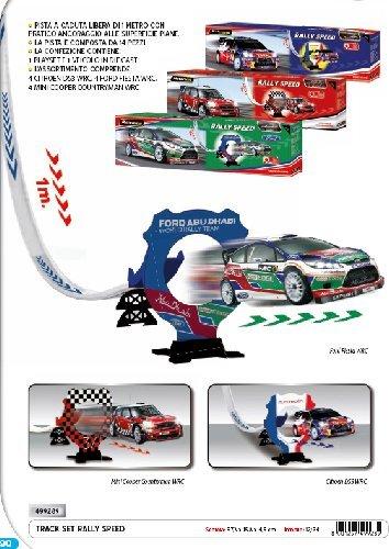 Motorama Pista Lanceur Rally Speed, 2 Couleurs