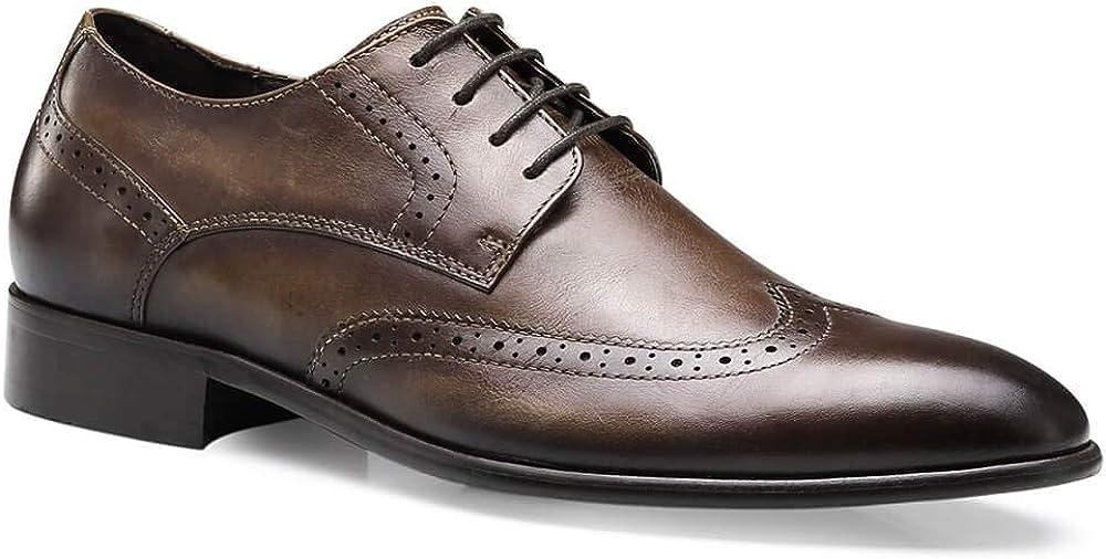 GOLDMoral Elevator Shoes,Height Increasing Man Taller