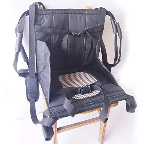 WANGXNCase Cinturón de Transferencia con Lazos de Pierna - Transporte De Silla De Ruedas Cinturón De Seguridad Cinturón De Eslinga De Inodoro Impermeable Tabla De Transferencia De Movilidad