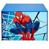 Spiderman 474SIA Coffre de Rangement, Bois, Bleu et Rouge, 60 x 39,5 x 39,5 cm