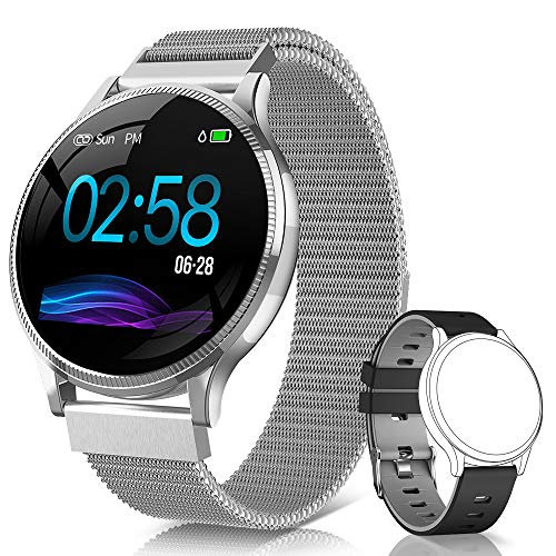 NAIXUES Smartwatch color plata