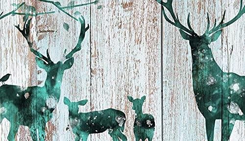 BBDNIW Arte Visual Disfraz Reno decoracin Pintura Lienzo Animal Cartel Imagen Dormitorio Sala de Estar decoracin del Pasillo 40x50 cm