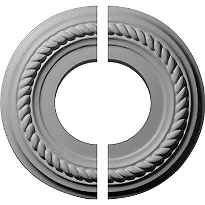 Ekena Millwork 7 7/8-Inch OD x 1 1/8-Inch ID x 3/4-Inch Small Alexandria Ceiling Medallion