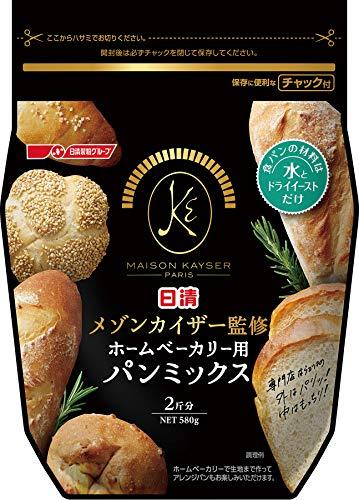 日清フーズ 日清 メゾンカイザー監修 ホームベーカリー用パンミックス 1セット 3個