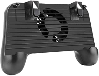 Mobile Game Controller, 4-in-1 Upgrade Version Gamepad Holder Stand with Cooling Fan Power Bank, Shoot and Aim Mobile Trig...
