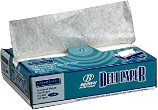 """Deli Bakery Interfolded Wax Paper 8""""x10.75"""" White - 500 Sheets"""