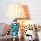 Gal (Una sección plegable vista creativa lámpara de mesa de cerámica para...