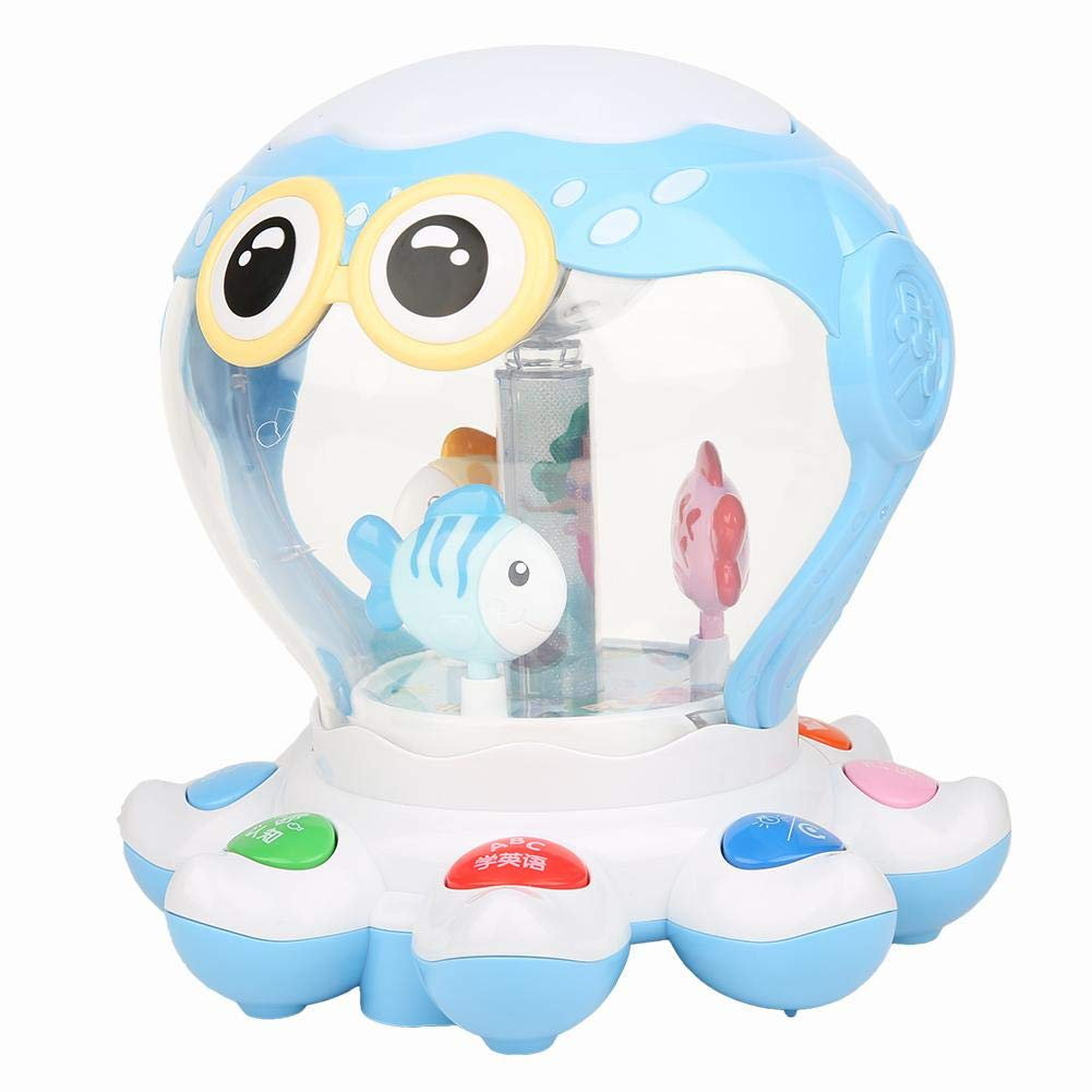 Rechargeable Sound Toys Early Learning Music Spring new work Year-end gift one after another 7 Modes with Light