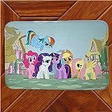 Vscdye My Little Pony Rainbow Horse Tappetino Tappeto Decor Camera Zerbino Anime Manga Tappeti Antiscivolo180X280Cm