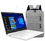 2020 HP 14 inch HD Laptop, Intel Celeron N4020 up to 2.8 GHz, 4GB DDR4, 64GB eMMC Storage, WiFi 5, Webcam, HDMI, Windows 10 S /Legendary Accessories (Google Classroom or Zoom Compatible) (White)