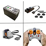 LEGO Power Functions Train Motor kit Including IR Receiver, Remote & Battery Box