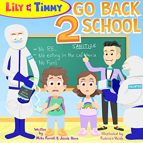 Lily & Timmy Go Back 2 School: a funny children's book for kids and parents, a hilarious kids' book for boys and girls