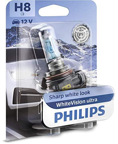 Philips WhiteVision ultra H8 bombilla faros delanteros, blister individual