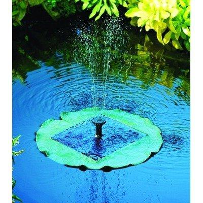 Smart Solar Fontaine Solaire nénuphar Flottante