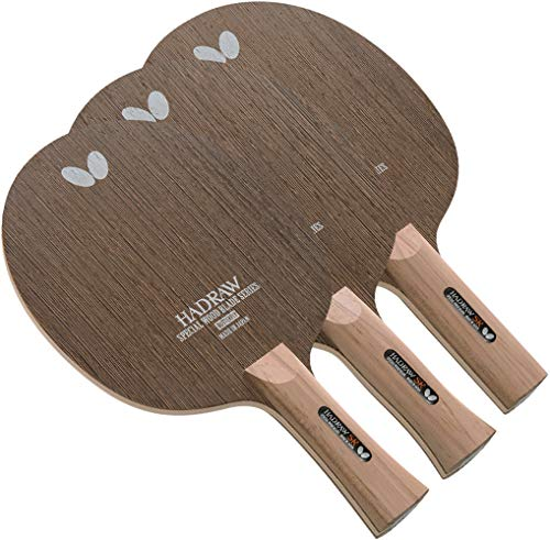 Best Price Butterfly Hadraw SR Table Tennis Blade - 7-ply All-Wood Blade - Professional Butterfly Ta...