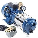 Sujrtuj 1,8 kW pompa dell'acqua da giardino pompa centrifuga 9000 L/H max 230 V con interruttore