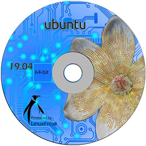 Ubuntu Linux 19 04 DVD OFFICIAL 64 bit release product image