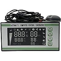 Huatuo termostato Digital Controlador multifunción/Incubadora Automática de Huevos de Aves Gallinas Patos, Sensor de Temperatura para incubateur de pequeña Talla (XM-18S)