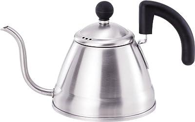 和平フレイズ ケトル コーヒー ドリップケトル 1.0L IH対応 つや消し仕上 ステンレス 日本製 EM-8074