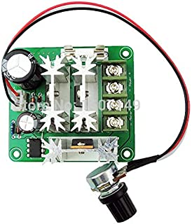 Greartisan 6V-90V 15A PLC DC Motor Speed Controller PWM Variable Speed Regulator Governor Switch CCMHCN With Speed Control Knob