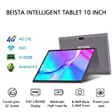 4G LTE Tablette Tactile 10.1 Pouces Android 9.0 Certifié par Google GMS, Tablette Full HD 1.3GHz...