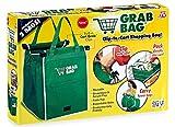 Telebrands FBA_8991-6 GRAB SHOPPING BAG MfrPartNo 8991-6, 1 Pack (2, Green