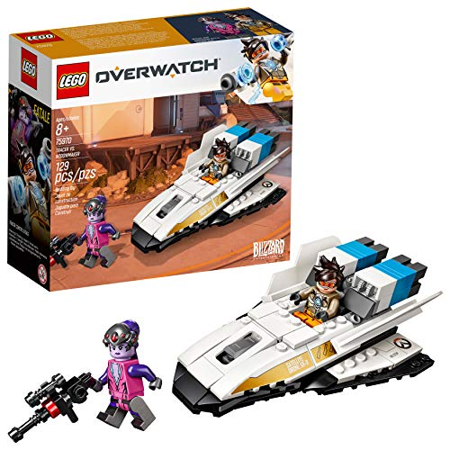 LEGO Overwatch Tracer & Widowmaker 75970 Building Kit (129 Pieces) (Discontinued by Manufacturer)