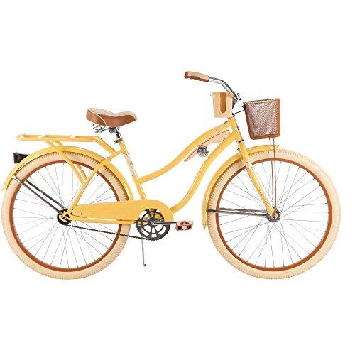 """26"""" Huffy Nel Lusso Women's Cruiser Bike, Banana-Yellow"""